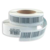 Этикетка РЧ 40х40 мм, для замороженных продуктов л. ш\код