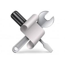 Монтаж противокражного оборудования (2 антенны)