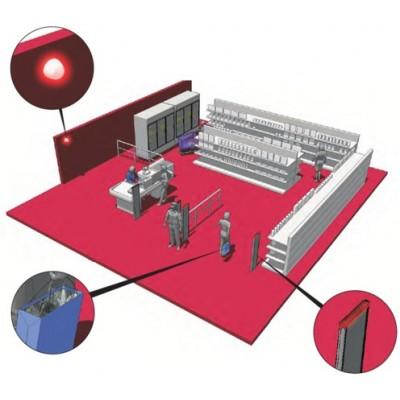 Встроенный детектор фольгированных сумок для SOLARIS G10 570