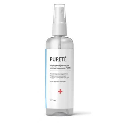 Спрей для обработки рук антибактериальный Purete