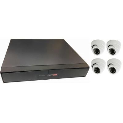 Система видеонаблюдения по ключ для небольших помещений до 40 м²
