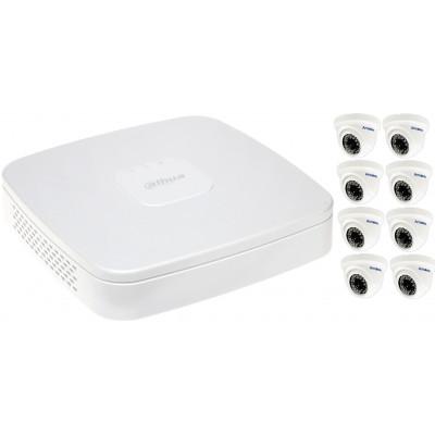 Камеры видеонаблюдения для среднего помещения до 80 м²
